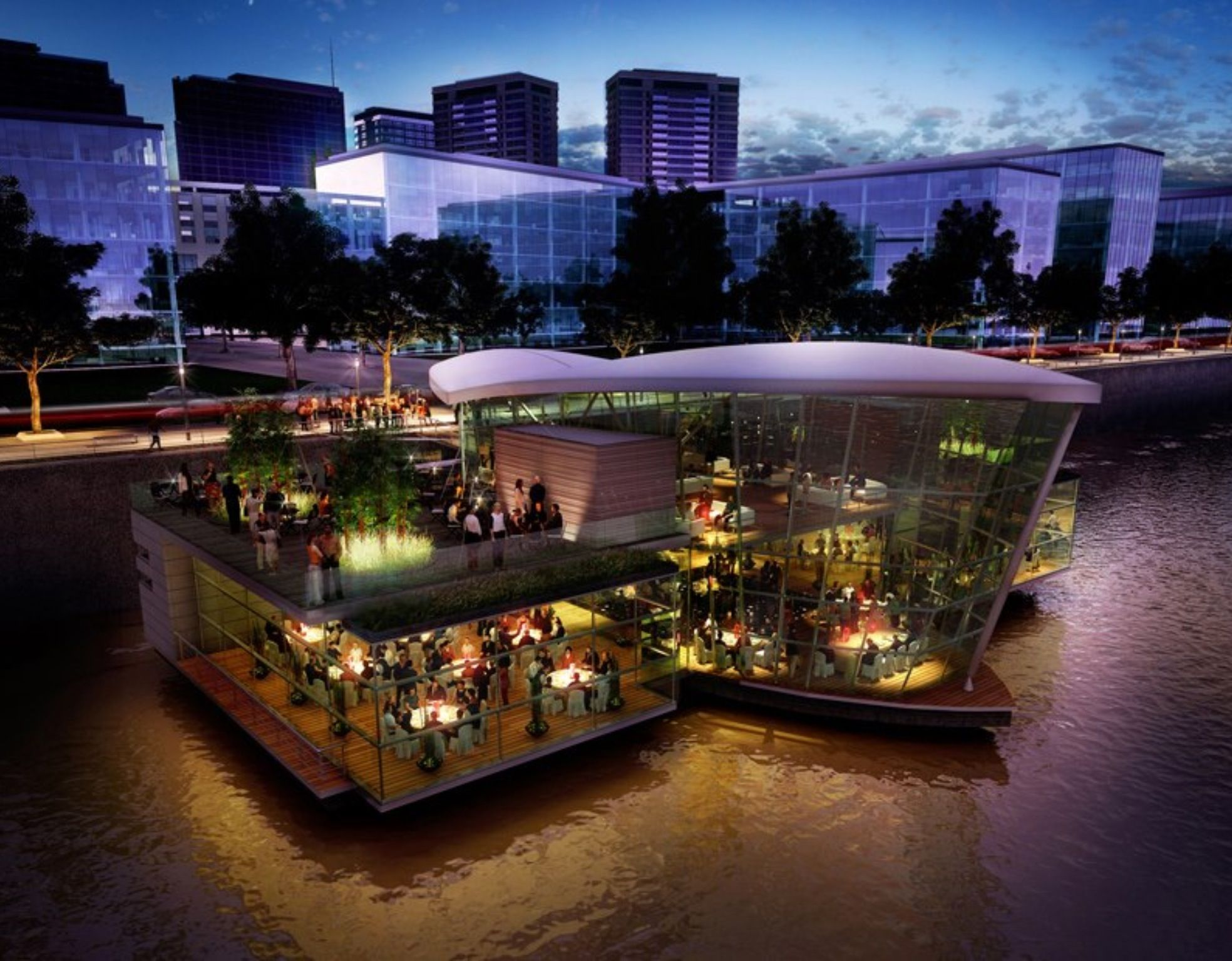 Madero Walk Waterside Restaurant Buenos Aires I Love Puerto In It Is Beautiful With Amazing Condos Hotels And Restaurants