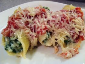 Clegg's Kitchen: Stuffed Shells - from Cook Yourself Thin