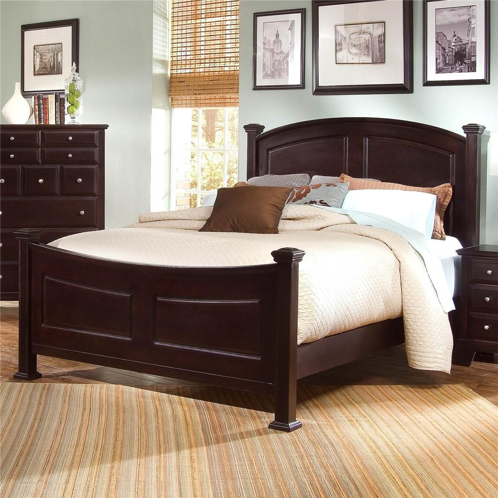 Hamilton Queen Panel Bed By Vaughan Bassett Home Interior Bed Panel Bed Bed Furniture