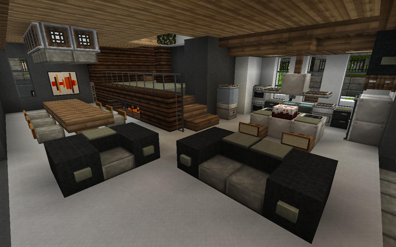 Minecraft Kitchen Ideas Modern Designs Youtube