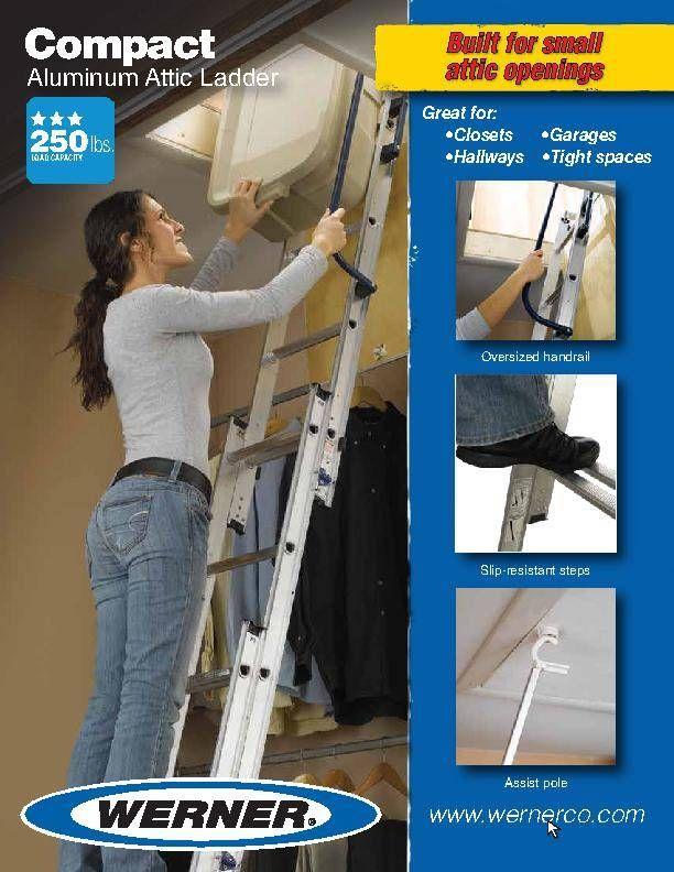 Home Improvement Attic Ladder Small Attic Room Attic Renovation