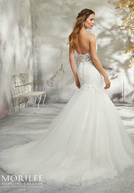 Beaded spaghetti strap wedding dresses  Lyra Wedding Dress  Statement Backs  Pinterest  Wedding dresses