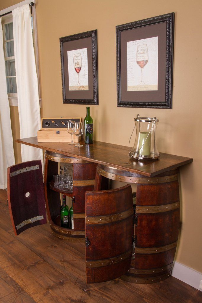 Pin By Mark Swords On Home Improvement In 2020 Barrel Furniture Wine Barrel Furniture Barrel Bar