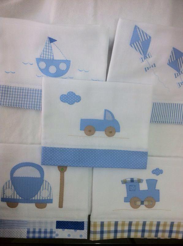 Atelie Arte non Pano | fraldas e toalhinhas | Pinterest | Baby ...