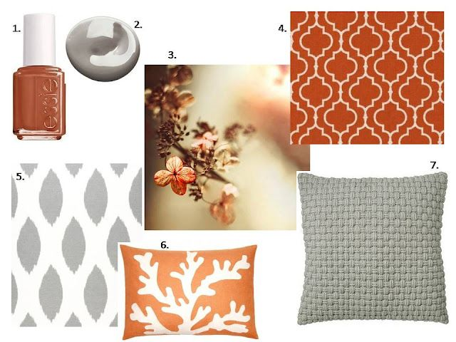 Best Burnt Orange Grey Bedroom Orange Living Room Grey 400 x 300
