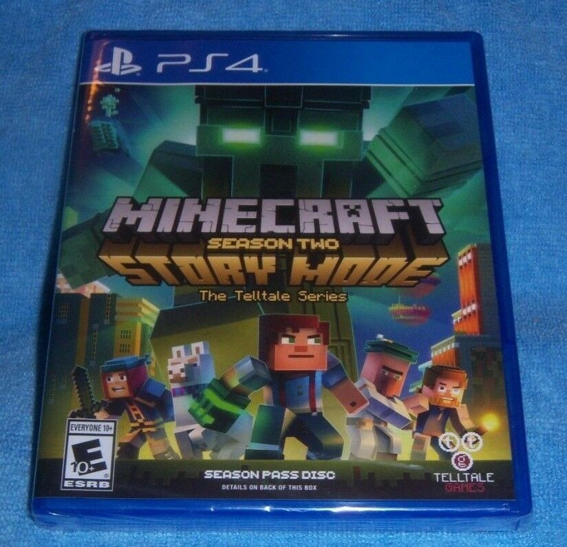 New Playstation 4 Ps4 Minecraft Story Mode Season Two 2 Season