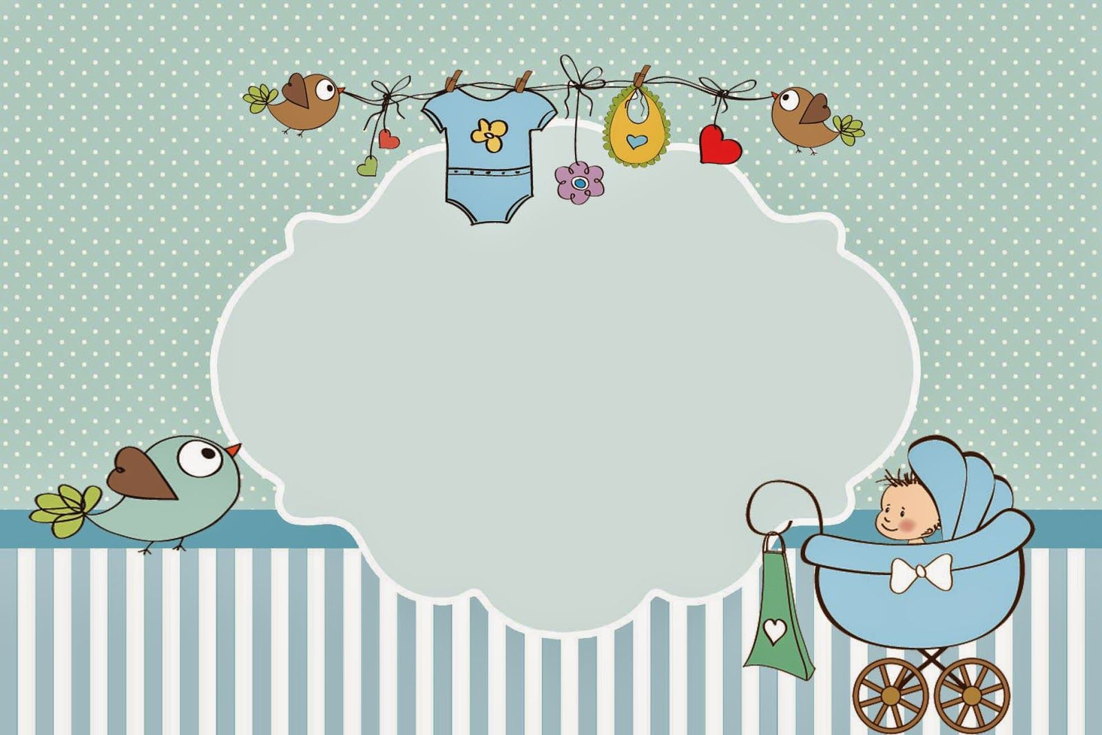 Добрым, шаблон открытки новорожденному