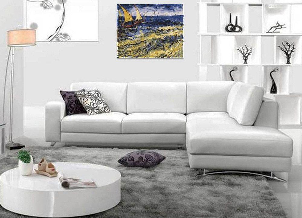 Картина по номерам «Вид на море в Сент-Мари» Ван Гога ...