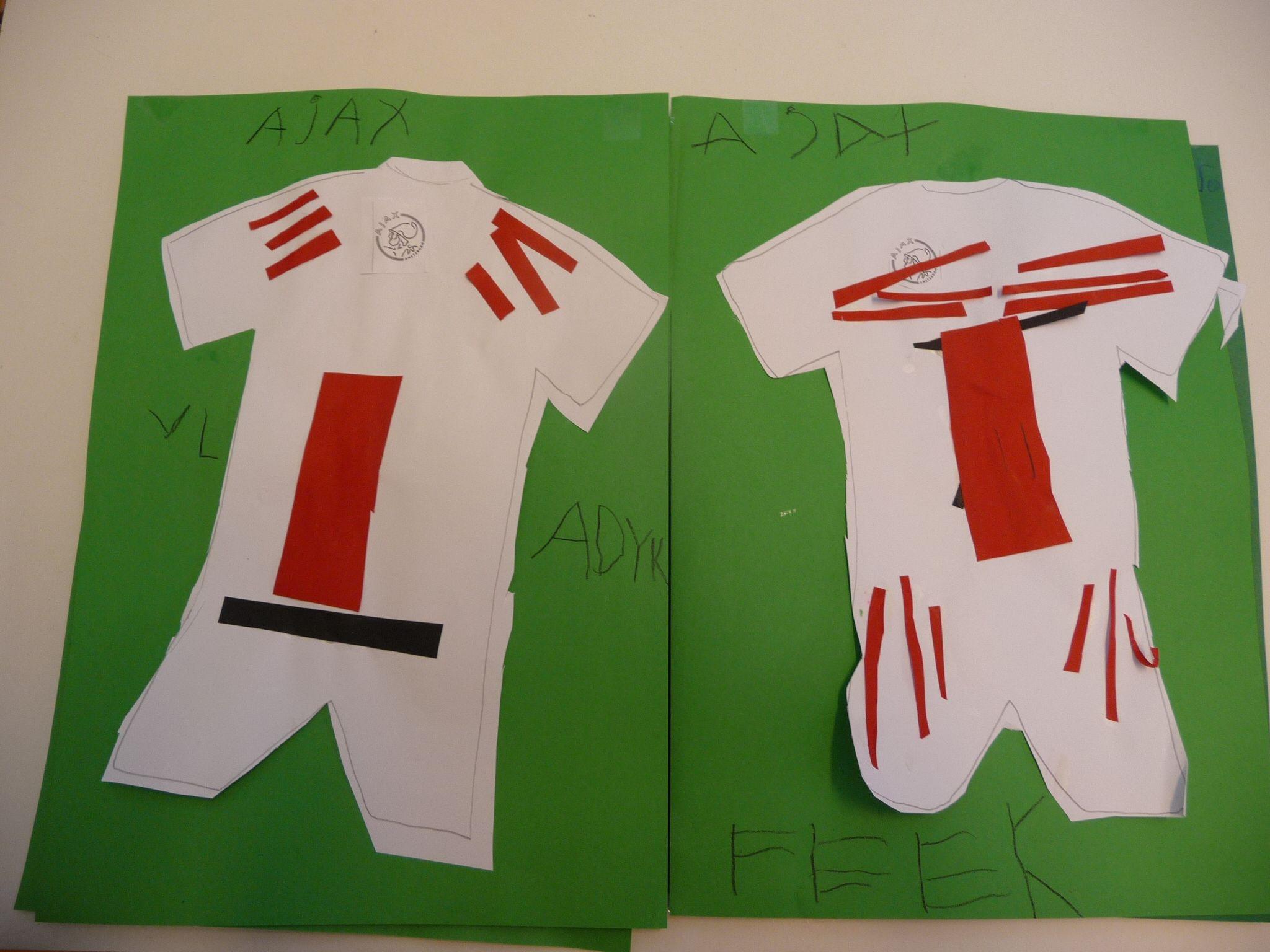 Pin Van Juf Ineke Op School Map Juf Ineke Allerlei Knutselideeen Op School Gefotografeerd Sport Voetbaltenue Voetbal
