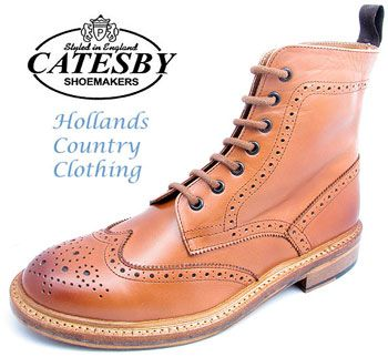 26c27ef4014 Catesby all leather appleby brogue boot | Stuff to Buy | Dealer ...