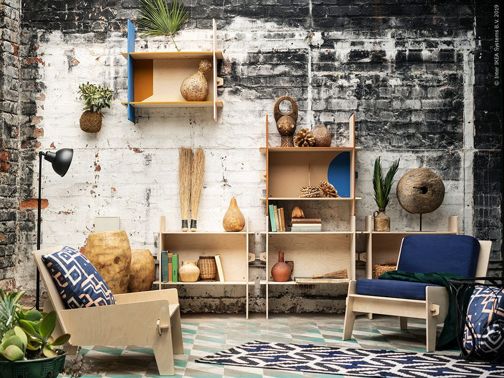 ÖVERALLT – ett urbant vardagsrum | IKEA Livet Hemma