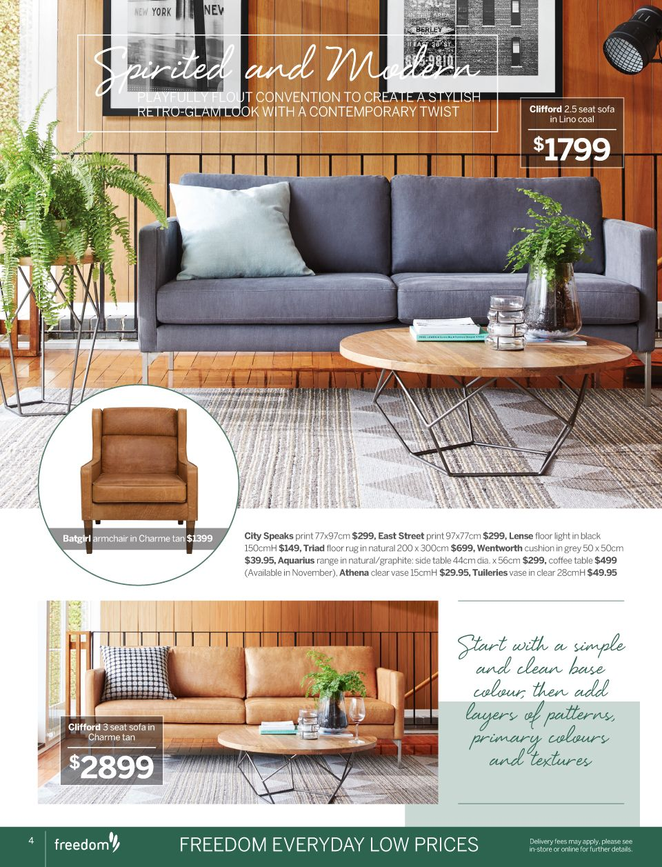 Catalogues freedom furniture and homewares