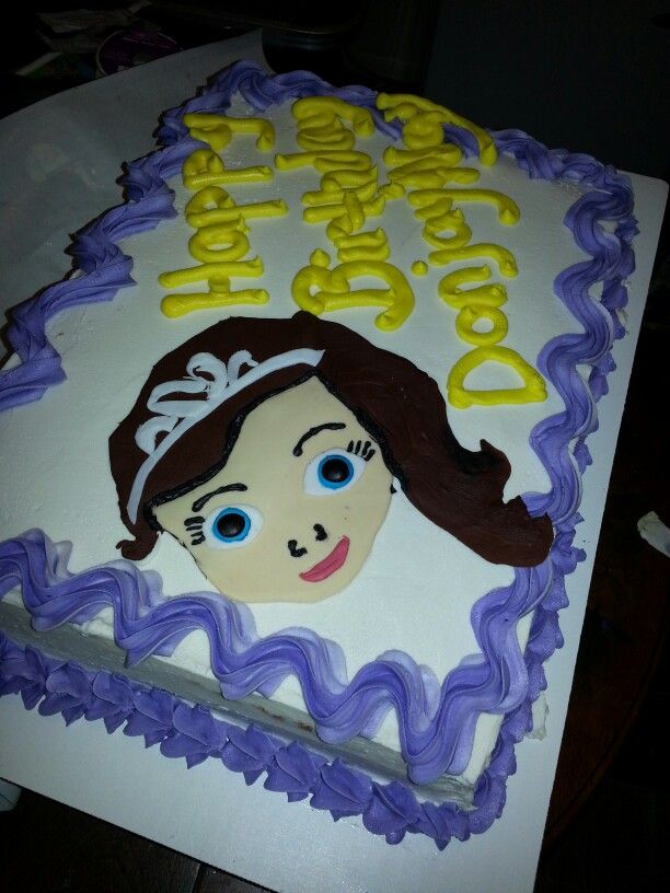 Sophia the First inspired cake