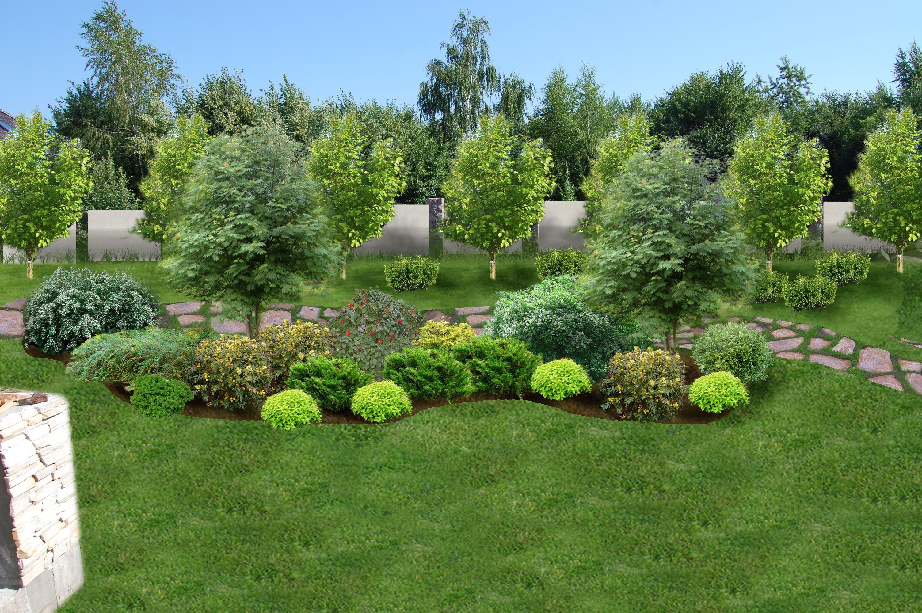 это время фотографии озеленение небольшого сада петлями остается