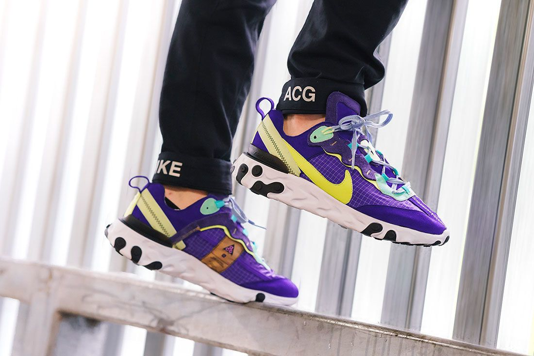 An On-Foot Look at BespokeIND s Nike ACG React Element 87  2fb0cd727