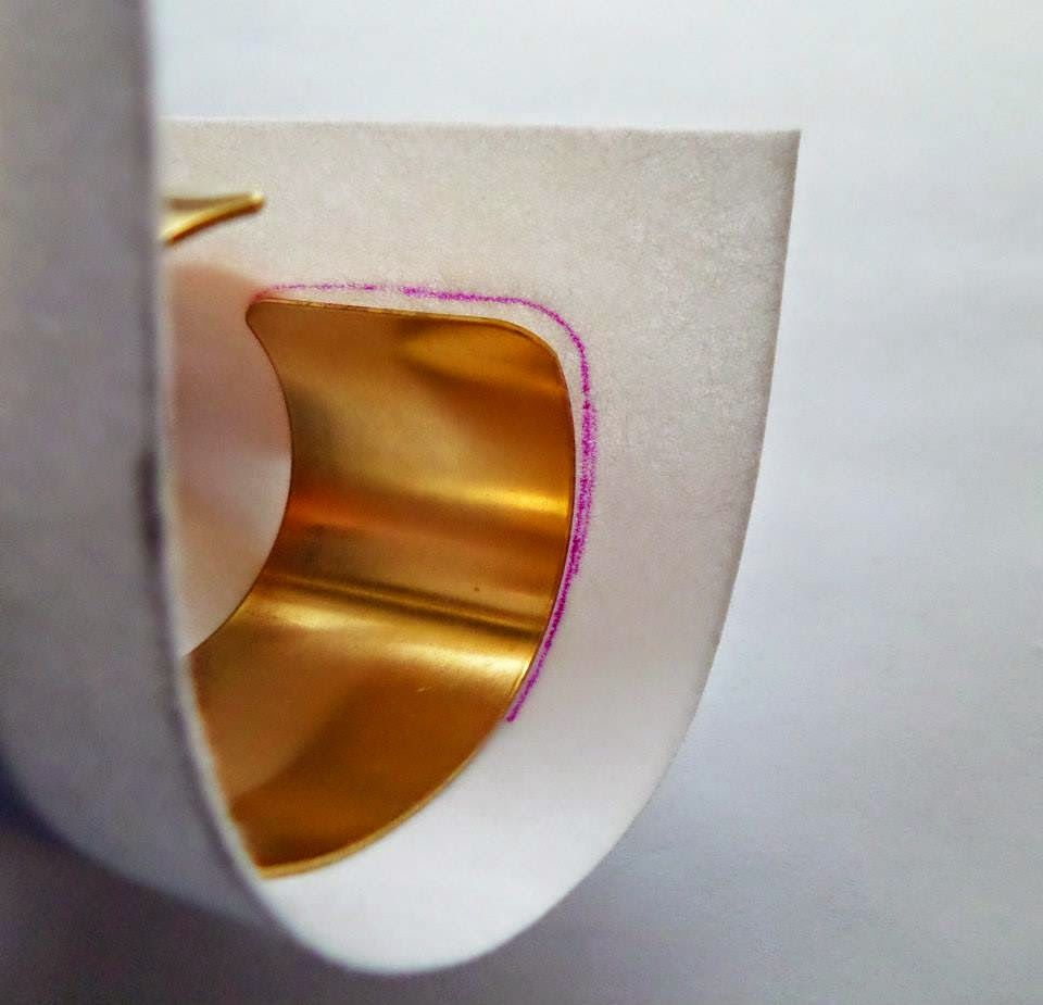 de Cor's Handmade Jewelry: Step By Step Shibori Cuff Tutorial by Serena Di Mercione Jewelry