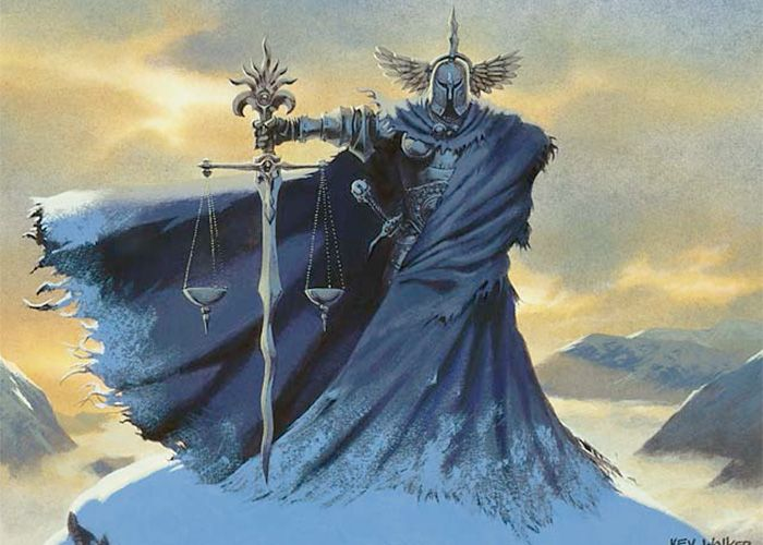 Image result for mtg judge with balance tattoo