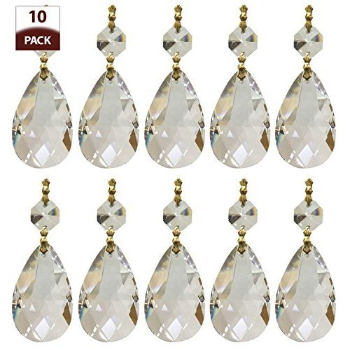 Clear acrylic chandelier drops pkg of 112 chandeliers clear acrylic chandelier drops pkg of 112 aloadofball Images
