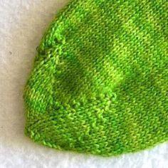 Voici comment je tricot: dentelle étoilée   – stricken