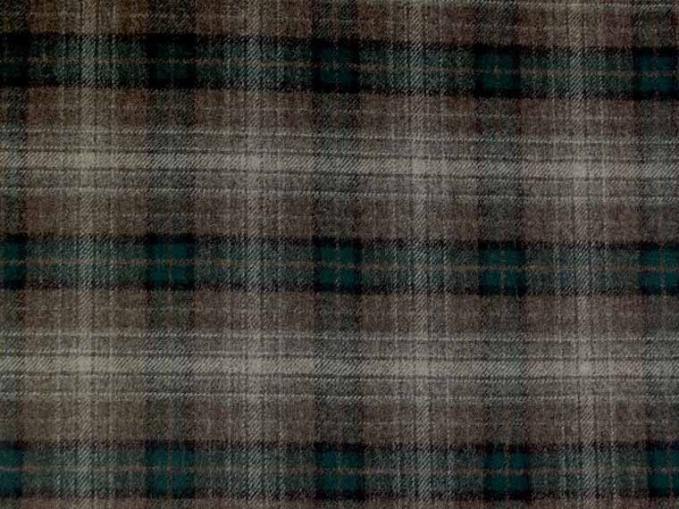 Moon 100% Wool Check Fabric - Curtains and Upholstery - The ...