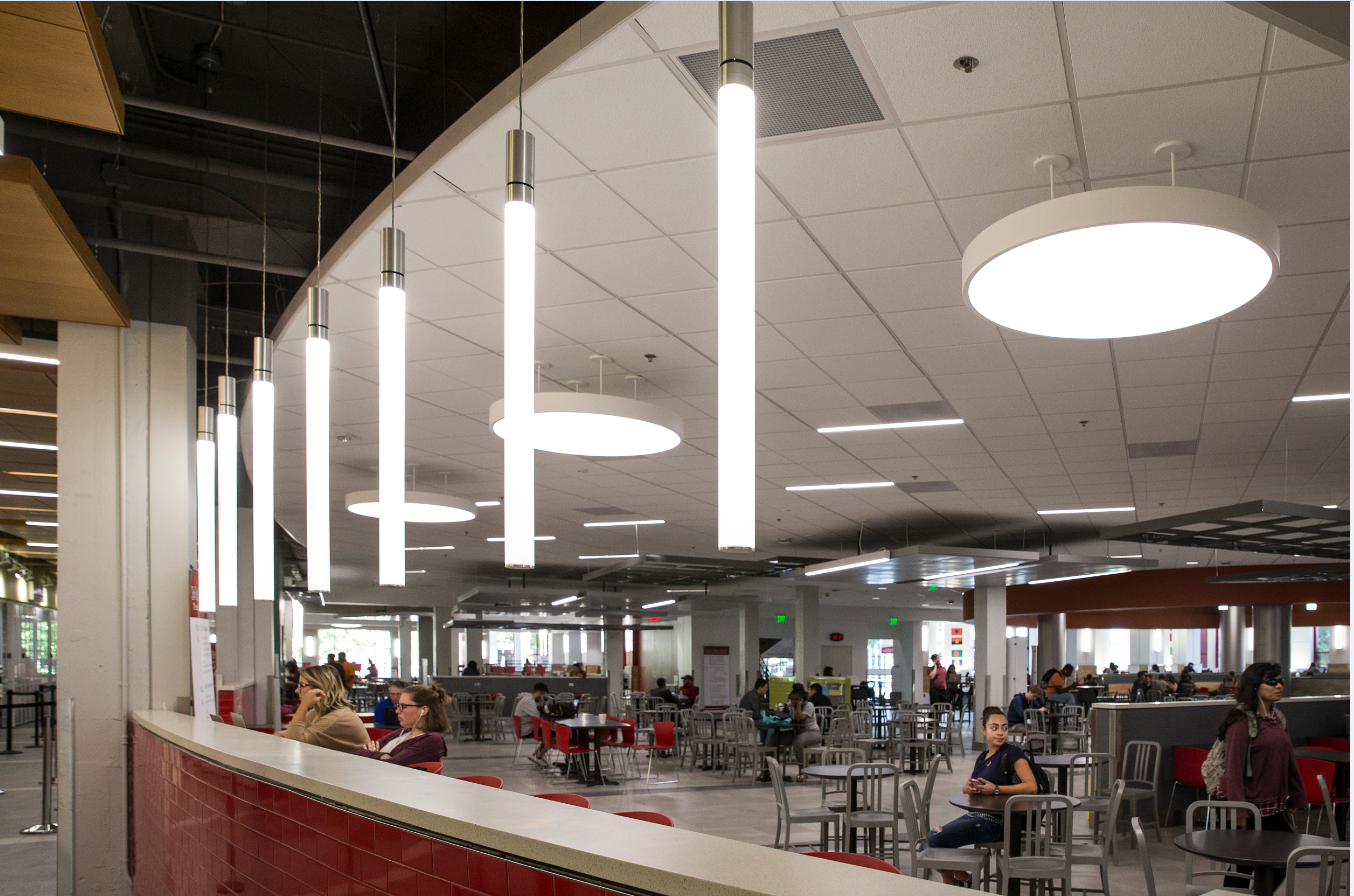 Temple University Student Center Food Court With Images