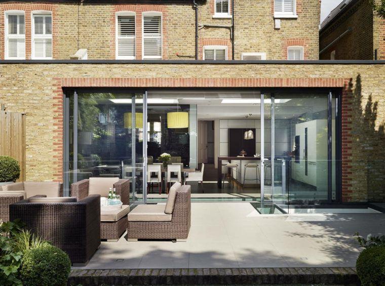 Idée agrandissement maison  50 extensions esthétiques Extensions - idee de plan de maison