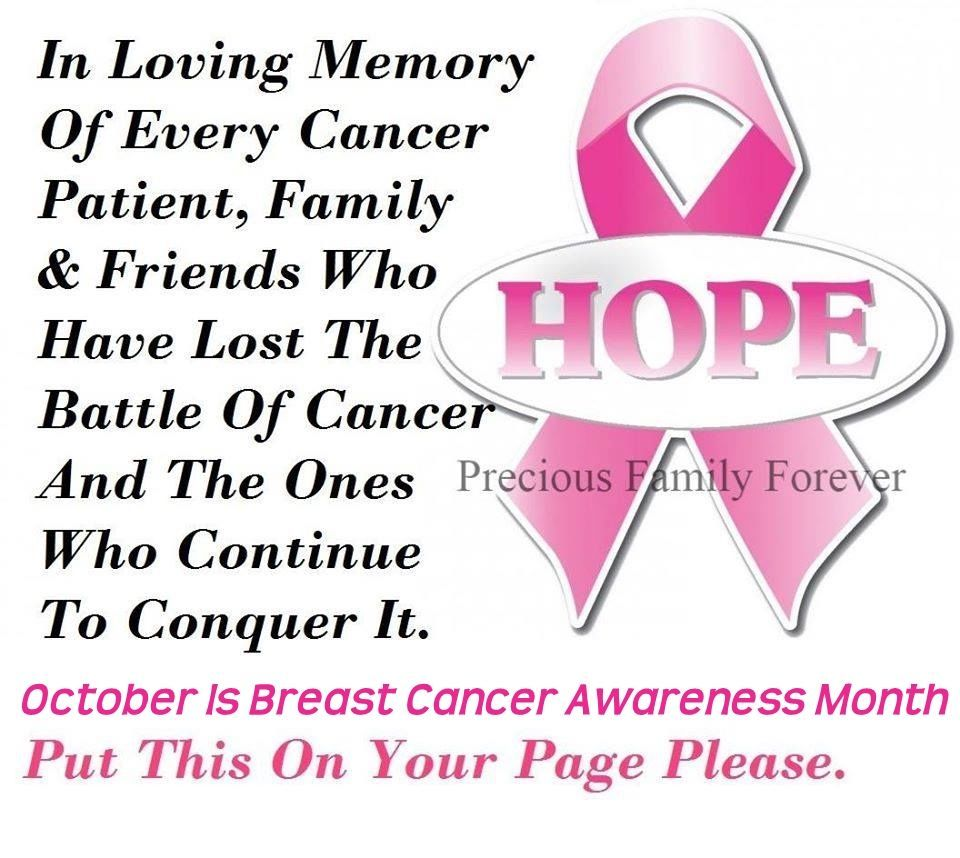 Quotes For Cancer Patients October Is Breast Cancer Awareness Month Pictures Photos And