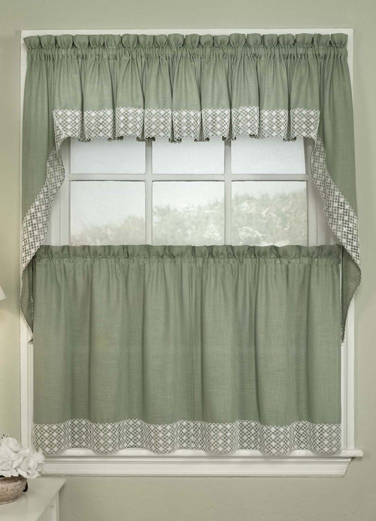 Choosing Light and Elegant Kitchen Curtain | Curtains | Tier ...