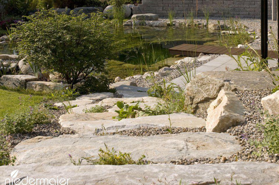 Garten am Hang - Gartendesigns - Niedermaier Gärten \ Freiräume - garten am hang