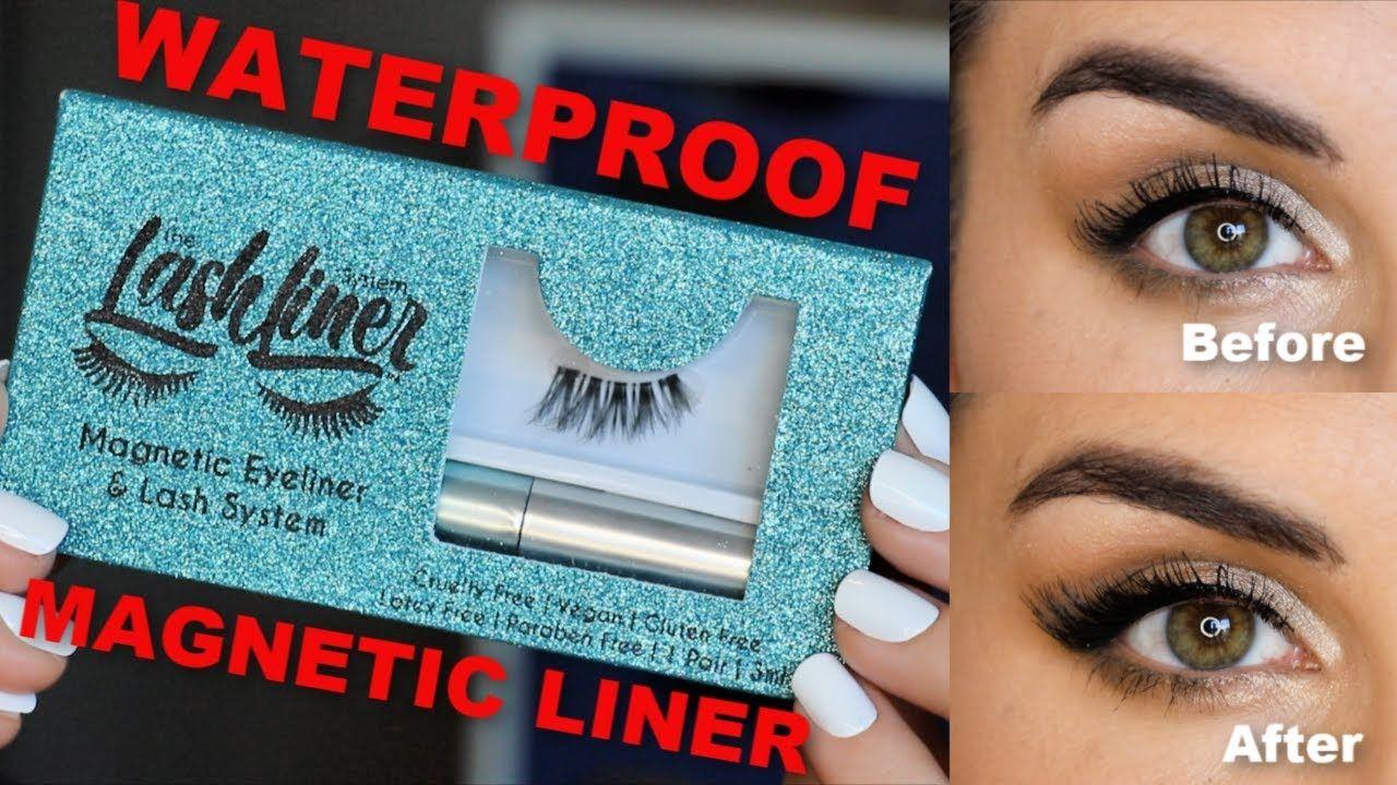 Lashliner review waterproof liquid eyeliner for