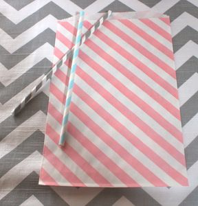 Candy shop treat bags