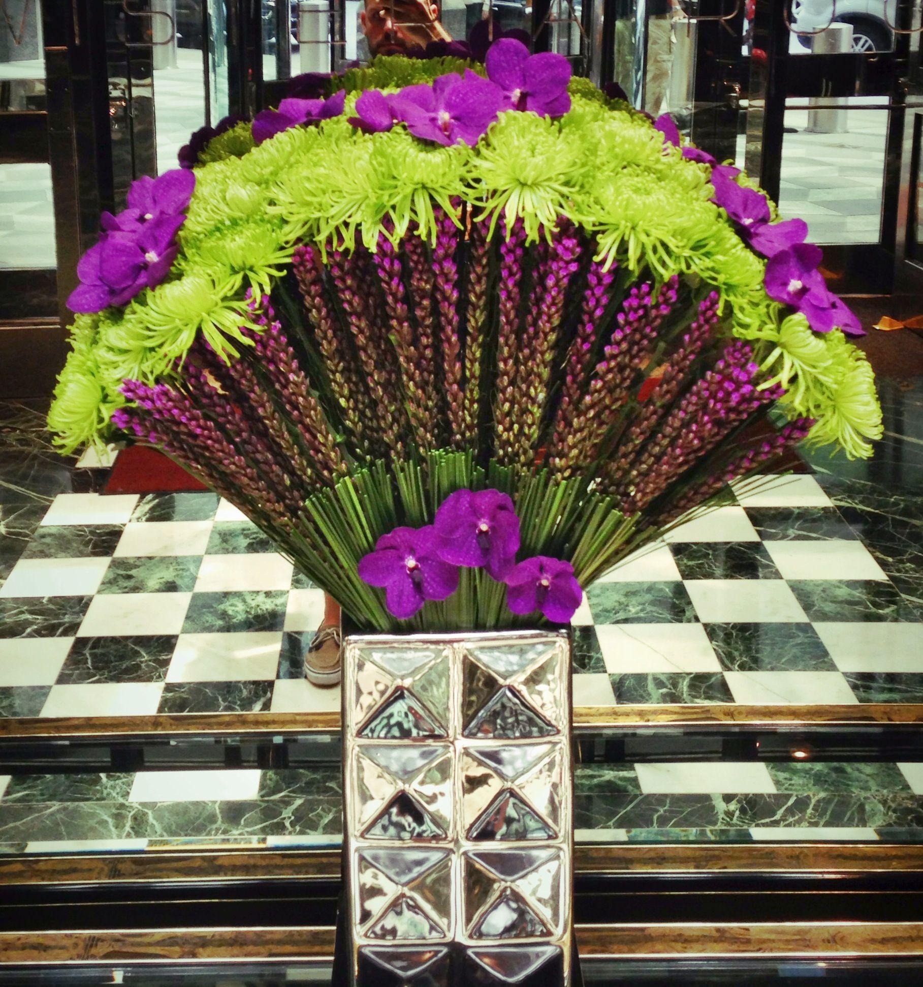 Hotel Foyer Flower Arrangements : Hotel lobby flower arrangement floral sign idea