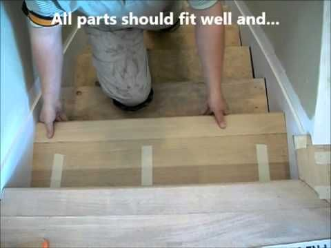 How To Install Hardwood Stair Treads And Risers