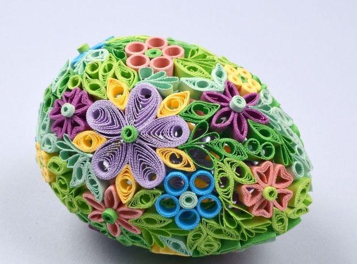 Decorazioni di pasqua fai da te con il quilling fotogallery donnaclick easter ideas - Pasqua decorazioni fai da te ...