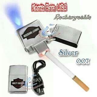 Korek Api Model Zippo Elektrik USB Harley Davidson 007 ...