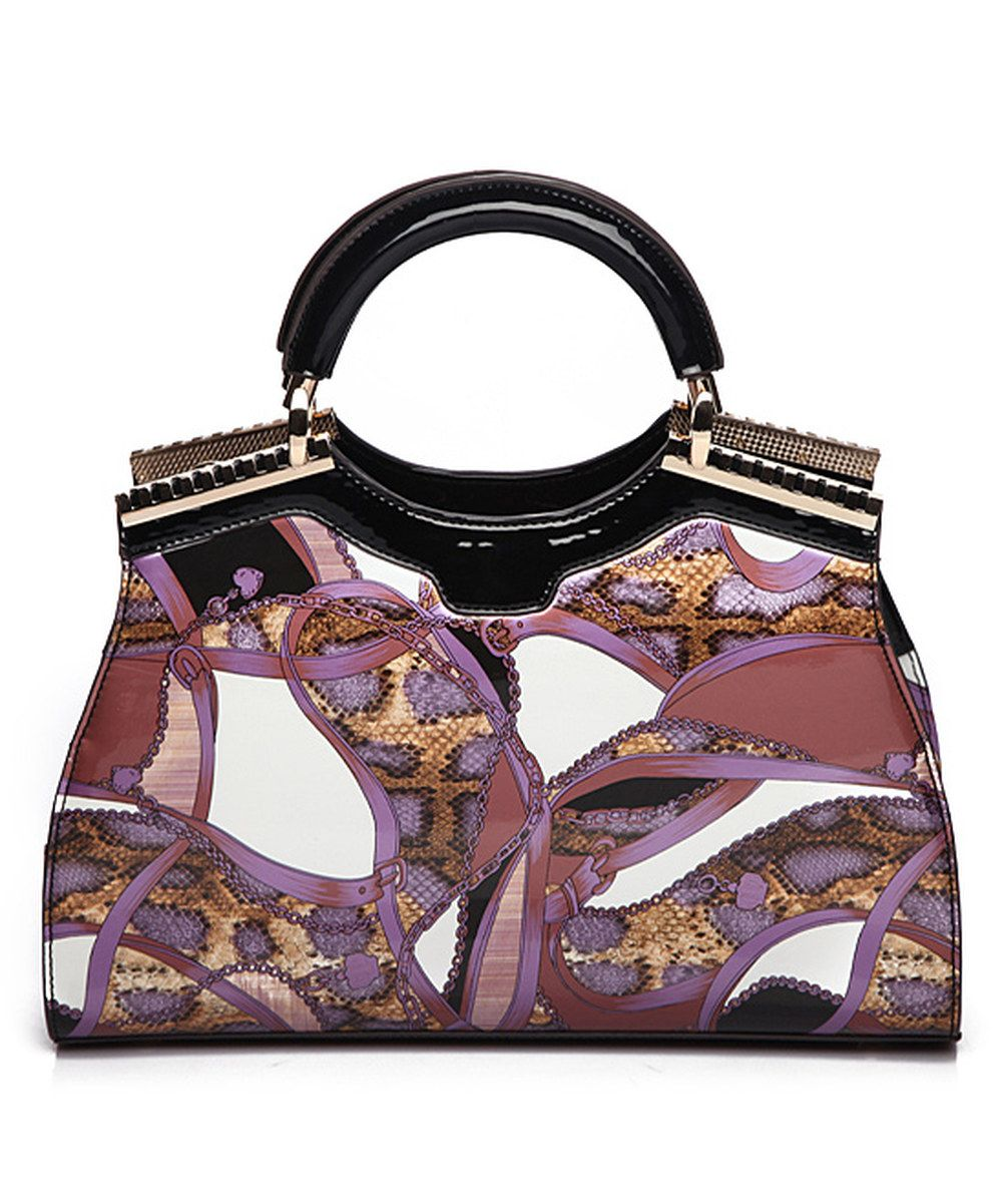 Another great find on #zulily! MKF Collection Purple Cynnie Satchel by MKF Collection #zulilyfinds