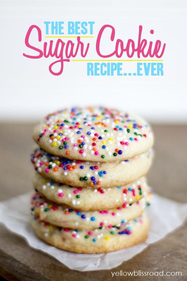 The Best Sugar Cookie Recipe EVER