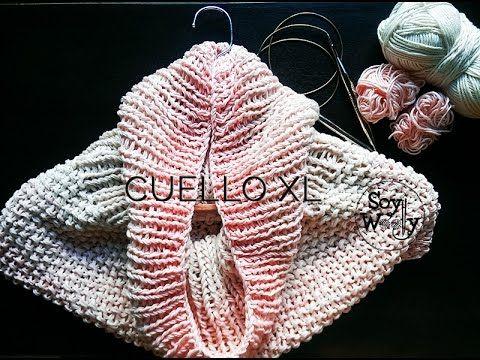 Aprende a tejer con agujas circulares paso a paso, con este patrón ...