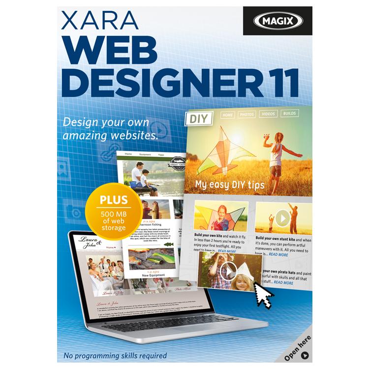 Magix Xara Web Designer 11 Software Download Purch Marketplace Fun Website Design Amazing Websites Web Design