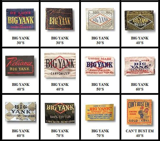 woolrich vintage tags