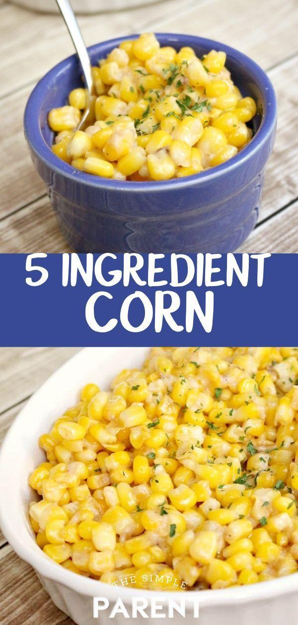 5 Ingredient Garlic Parmesan Corn 5 Ingredient Garlic Parmesan Corn - -