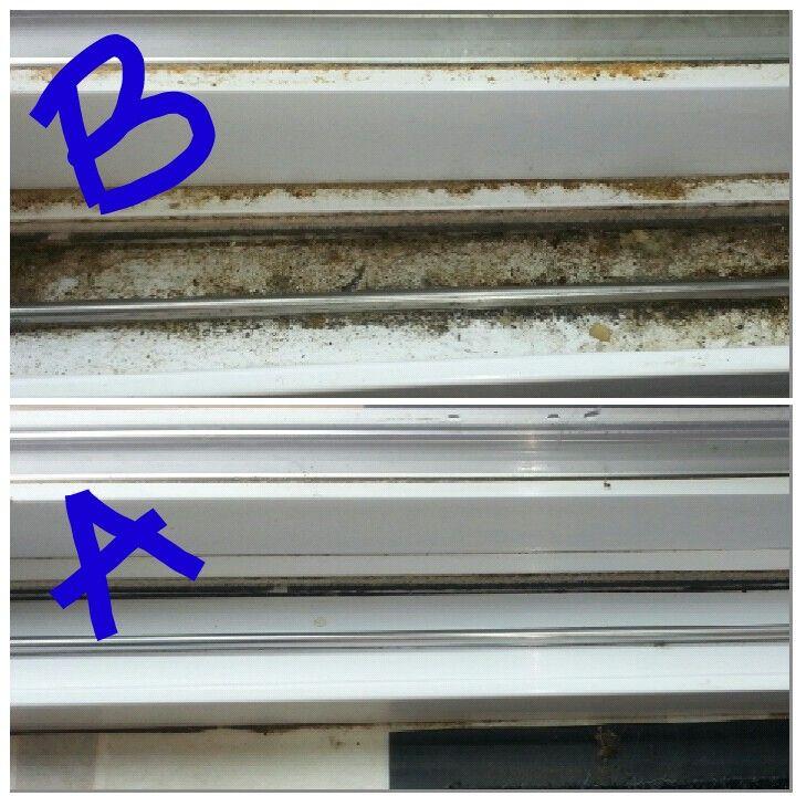 Hot Vinegar Water Works Wonders On Sliding Glass Door Tracks
