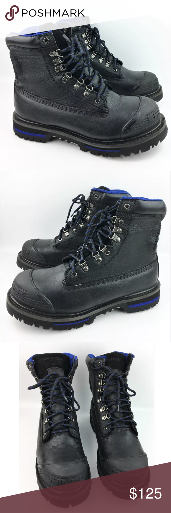 4ffc8caa4e5 Chinook Tarantula Waterproof Steel Toe Work Boots Boots have minor ...