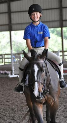 """""""Nupafeed has made my large pony Luke more focused and calm at horse shows and home!"""" -Lauren Bramley"""