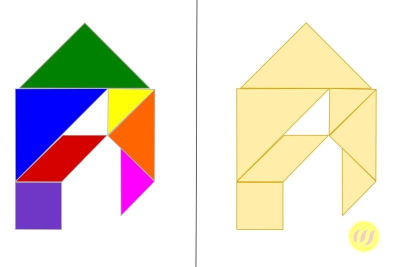 tangram  buchstaben  wunderwerkstatt  ausdrucken das