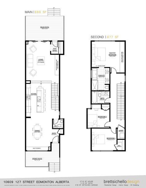 Infill House Design Edmonton