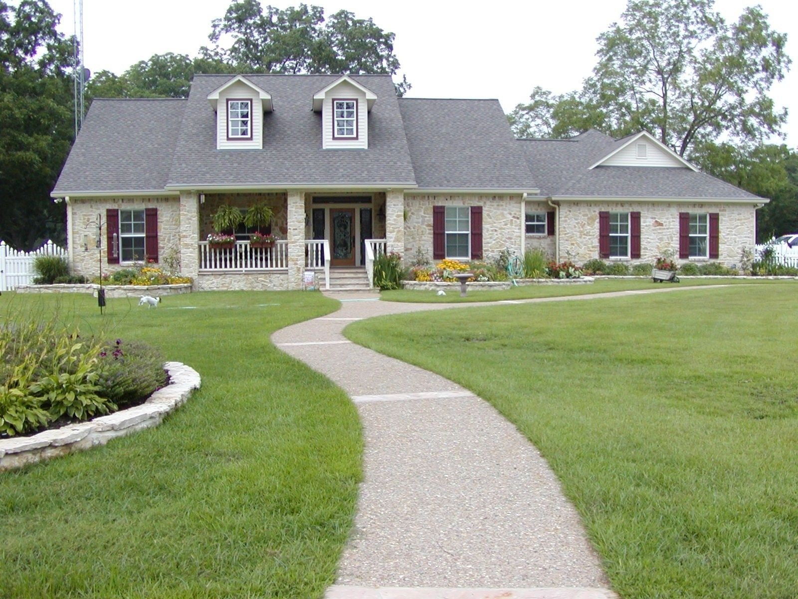 House AUSTIN STONE HOME PLANS