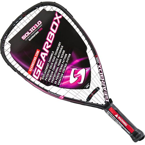 Gearbox Solid 1 0 165q Magenta Gearbox Racquetball Racquets Racquetball Racquets Tennis