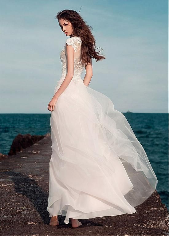 Marvelous Lace V-Neck 2 In 1 Wedding Dresses With Lace Appliques ...