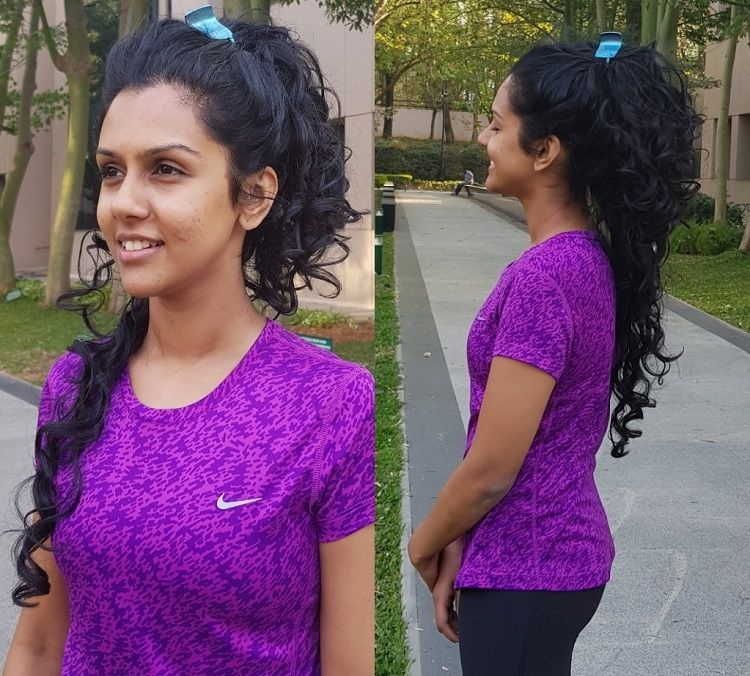 How to Care for Your Curls During & After a Workout Gym
